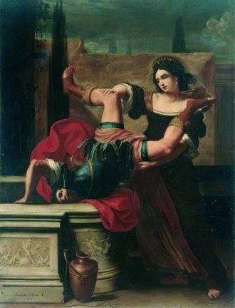 Elisabetta Sirani, 'Timoclea' copia